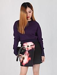 Women's Printing China Flower Skirt