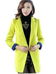 couverture midi cappotto di stile giacca di tweed delle donne