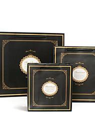 coway 3pcs a multa círculo coroa dom saco de papel partido set preto