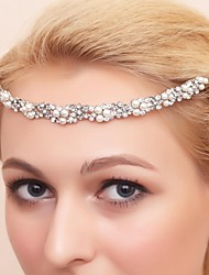 Women's / Flower Girl's Alloy / Cubic Zirconia Headpiece-Wedding / Special Occasion Tiaras Round