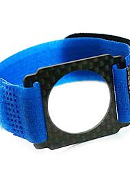 azul cinta de soporte de nylon para GoPro 3