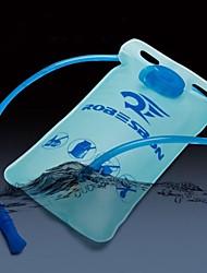 2l ciclismo TPU azul bicicleta / bicicleta do esporte de água potável ao ar livre saco / saco dobrável