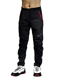Realtoo® Cycling/Hiking Warm Pants Men's/Women's/Unisex Winter Waterproof And Warterproof Fleeced Thermal Without padding