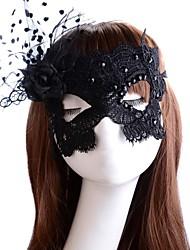 La sexy des femmes découpé dentelle masque de halloween costume de partie
