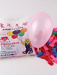 500 piezas de juguetes de látex globos de agua / de disparo (color al azar)