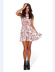 брызги крови фигурист платье ночной клуб костюм
