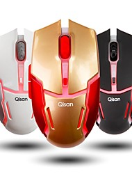 Qisan Crotalus-II 2.4Ghz Wireless 800-1600DPI Red LED Adjustable Mouse