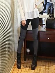 Femme Croisé Legging,Coton Moyen