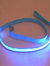 Highlight Soft LED Flash Dog Leash for Pets Dogs(Assorted Size,Assorted Color)