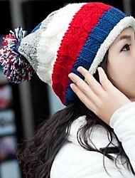chapéu de lã quente das mulheres