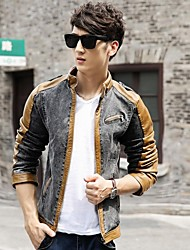 Men's Pure Long Sleeve Jacket Casual/Work
