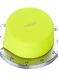 minuterie mécanique pour la cuisine abs en forme de bouton e · palais m54007-gr