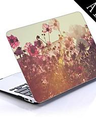 diseño de flores silvestres de todo el cuerpo caja de plástico protectora para el de 11 pulgadas / 13 pulgadas libro de aire nuevo mac