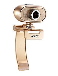 webcam 12 megapixel Aoni A9 con microfono incorporato