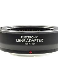neewer® corps en plastique (baïonnette en métal) lentille af de discussion Mount Adapter Pour4 / 3 lentilles aux micro 4/3 Olympus et Panasonic