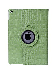 Crocodile Skin Pattern PU Leather Case with Stand for iPad Air 2