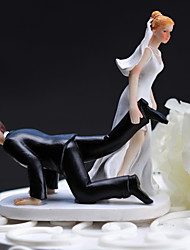 Cake Toppers Resin  Cake Topper - Bride Dragging  Groom