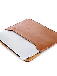 taikesen apple macbook pro 13 inch lederen zachte mouw geval tas