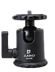 jusino bh-10b cabeza de bola de aluminio para cámaras réflex