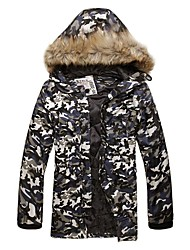 VaLS™ Men's Fashion Hooded Padded Winter Camouflage Long Jacket/Winter Outwear