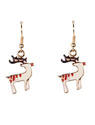 Earring Drop Earrings Jewelry Women Party / Daily / Casual / Sports Alloy / Enamel