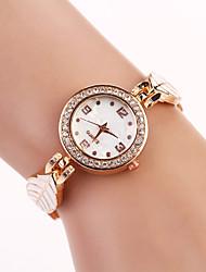 tout montre bracelet match de strass élégant de sept femmes de fille