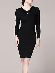 lifver® mulheres tornar moda temperamento cultivar a moralidade vestido