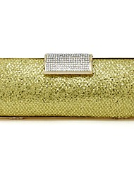 Satin Wedding / Special Occasion Clutches / Evening Handbags with Rhinestones