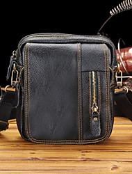 Men's Genuine Leather Business Shoulder Bag