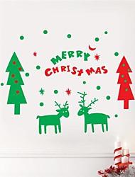 JiuBai® Christmas Wall Sticker Wall Decal