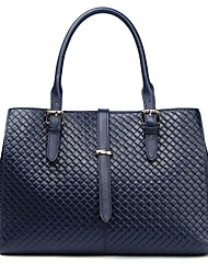 Paste® High Quality Women's Most Popular Weave Embossing Genuine Leather Tote Bag (More Colors)