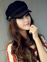 Women Acrylic / Polyester / Cotton Military Hat,Casual Winter