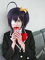 Love, Chunibyo & Other Delusions Rikka Takanashi Dark Purple Cosplay Wig
