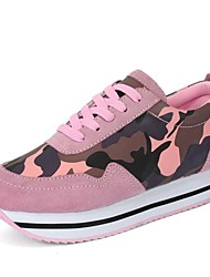 Chaussures femme ( Vert/Rose/Rouge ) - Cuir - Marche