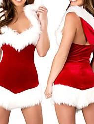Christmas Beauty Kapuzenkleid der Frauen