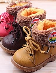 Baby Shoes Da escursione/Abito/Informale/Sportivo/Party & Sera Cuoio sintetico Stivali Marrone/Rosso/Marrone chiaro