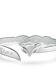 Bracelet - en Argent sterling - Vintage/Mignon/Soirée/Travail/Tous les jours - Manchette
