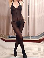 les fichiers ouverts transparents de femmes de lingerie net