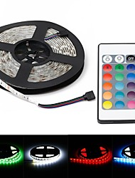 Waterproof 72W 5000lm 625nm 300-SMD 5050 RGB LED Decoration Light Strip w/ EU Plug (5m)