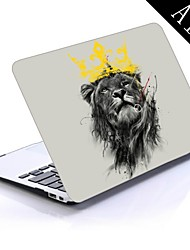 King Lion Design Full-Body Protective Plastic Case for 11-inch/13-inch New MacBook Air