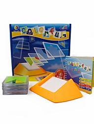 Colorful 100 Challenges Multi-Level Logic Game Spatial Thinking Jigsaw Puzzle