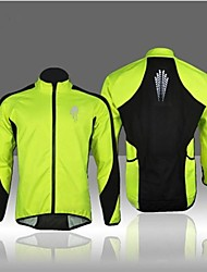 WEST BIKING® Cycling Jacket Men's Long Sleeve Bike Breathable / Thermal / Warm / Windproof / Fleece Lining / Reflective StripsFleece