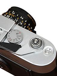 cam-in a forma di teschio cam9111 pulsante di scatto della fotocamera dedicato