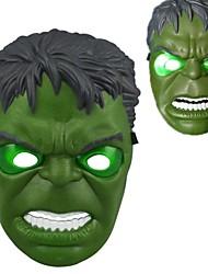 lumineux froid led masque hulk pour Halloween (blanc&vert)