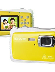 ISHARE WTDC-5261  1.8inch TFT  5.0MP  1080P HD  Children Camcorder Waterproof Dustproof and Drop Resistance