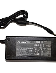 Adaptador de alimentación de CA 12.5A 150w 12v para la tira llevada luz y una cámara de vigilancia + más - negro (100 ~ 240v)