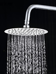 8 Inch 304 Stainless Steel Round Rainfall Shower Head