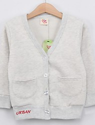 Boy's Cotton Blend Jacket & Coat , Winter/Spring/Fall Long Sleeve