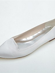 Women's Wedding Shoes Pointed Toe Flats Wedding/Casual/Party & Evening Black/Blue/Pink/Purple/Ivory/White/Silver