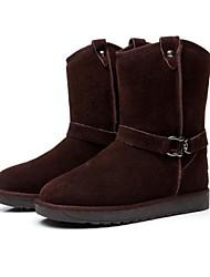 md couro longo vaca botas térmicas das mulheres